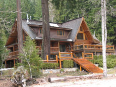Log Home Chilliwack Lake