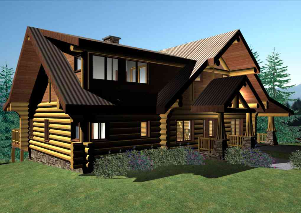 Handcrafted Log Cabins Log Homes Log Cabin Floorplans