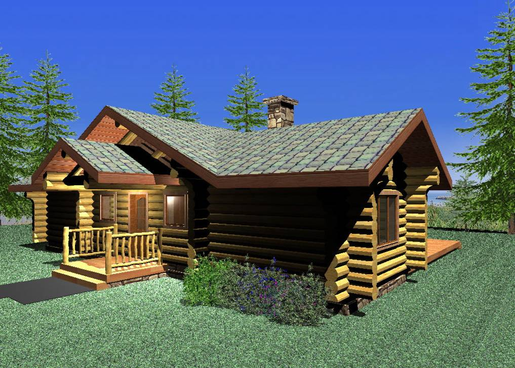 Slokana Log Homes Builds Handcrafted Log Homes And Cabins
