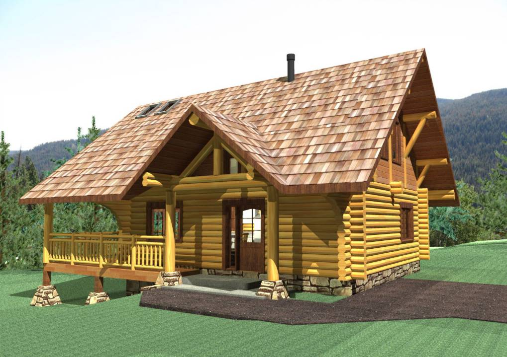 Log cabin home plans slovenia joy studio design gallery for Log cabin architecture